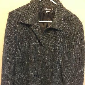 Black tweed short, 4 bottom jacket